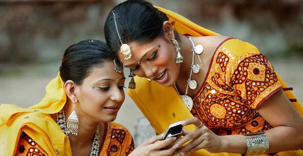 Uso de smartphones na India