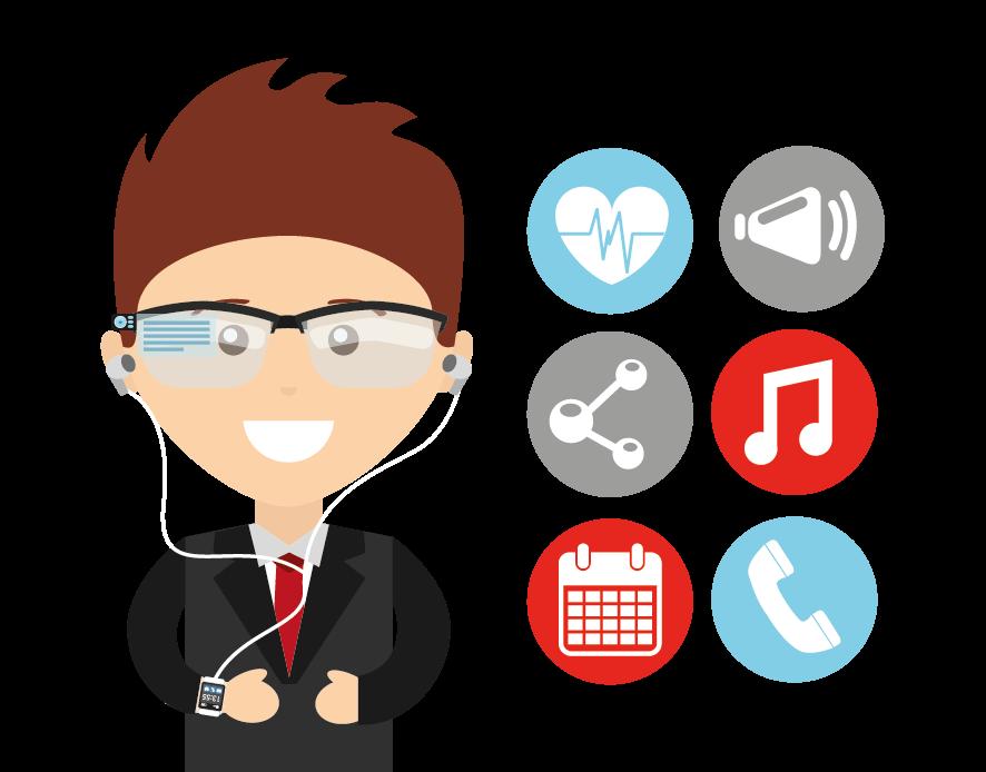 Tecnologias de vestir (wearables) e Internet das Coisas (IoT) gerando informações relevantes para que as empresas conheçam ainda mais seus consumidores.