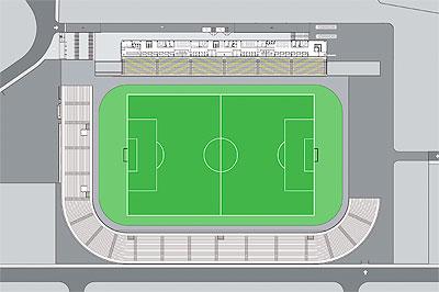 Grande campo futebol - Visita técnica completa ao CD da Amazon
