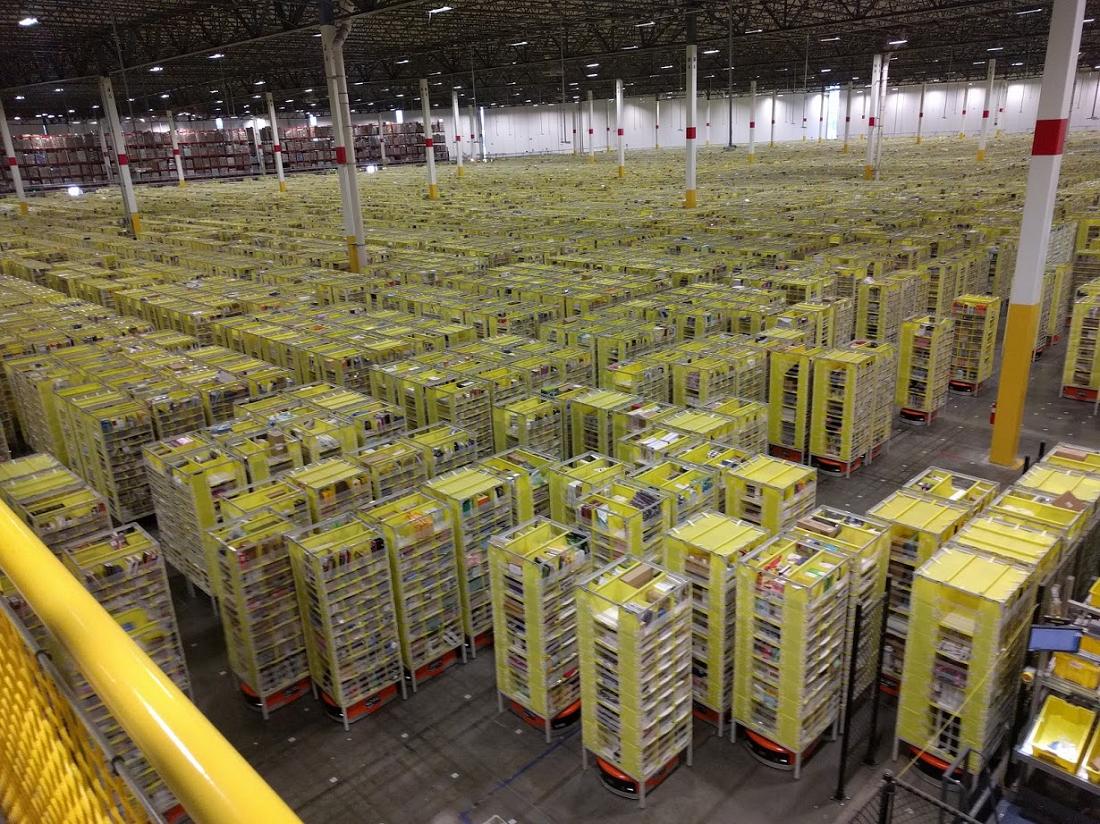 Gramado de kivas - Visita técnica completa ao CD da Amazon